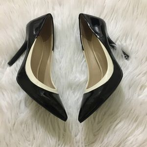 Bcbgeneration Pointed Glossy Career Heels Sz 8.5